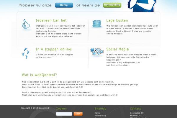 ontwerp_webQontrol_Frontpage